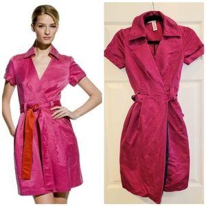 Diane von Furstenberg Hutton Wrap Dress Sz 2